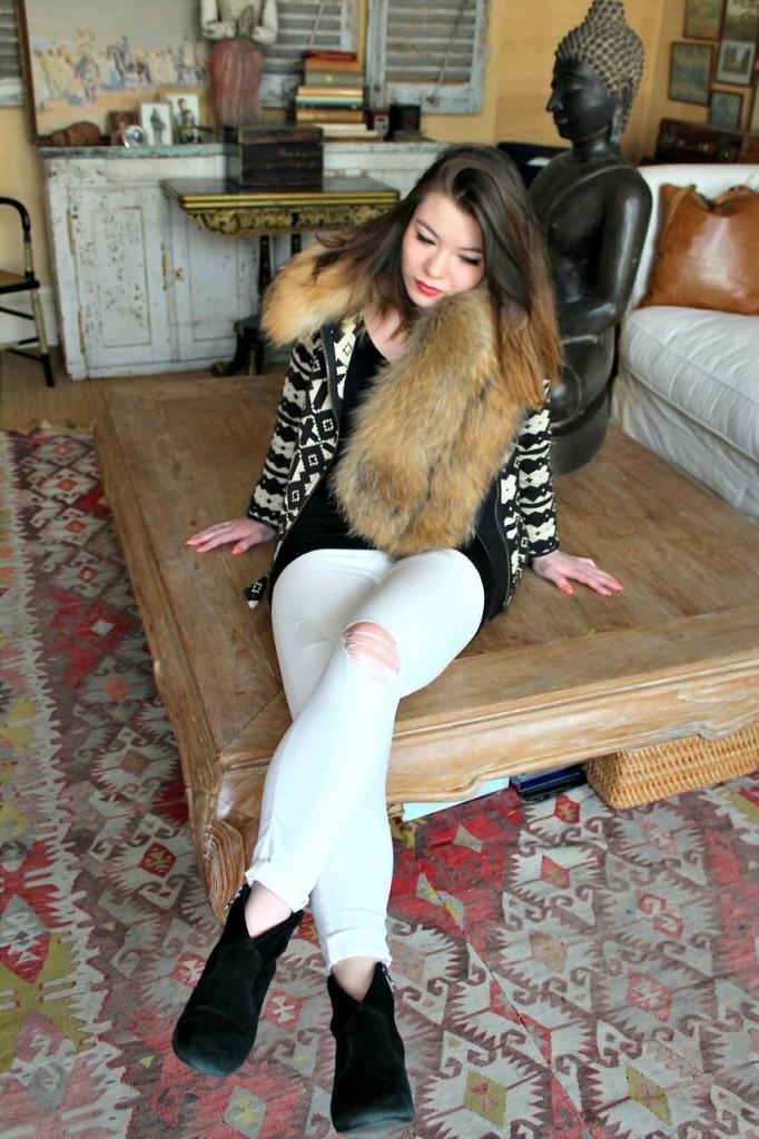 Charlotte Simone Fur Cuff