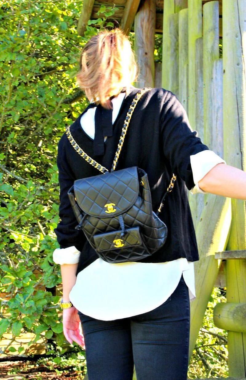 Vintage Chanel Backpack