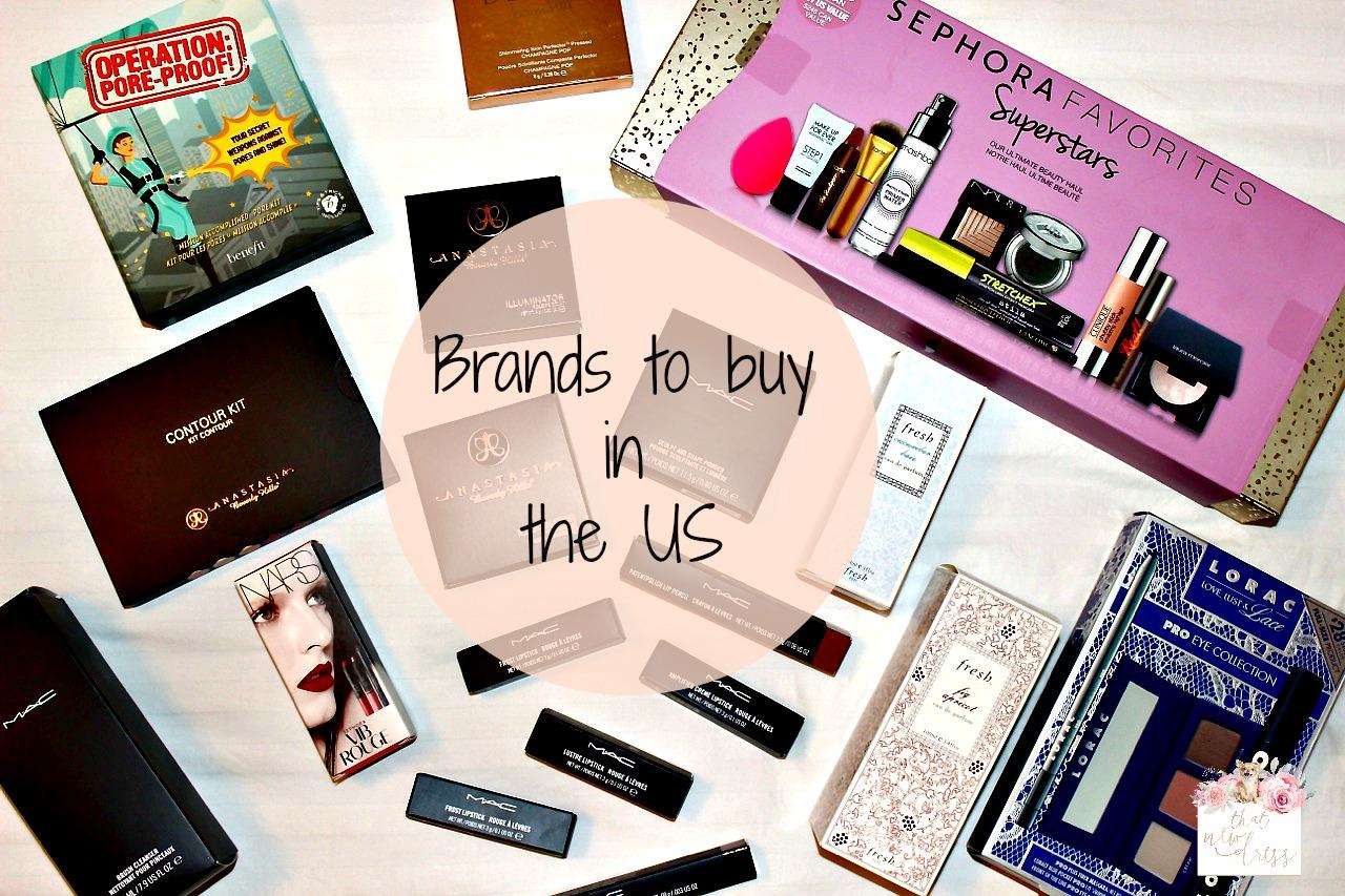 Brands to buy in the US