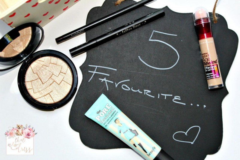 5 Favourite: Beauty Products