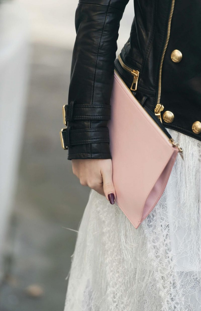 givenchy pink clutch bag
