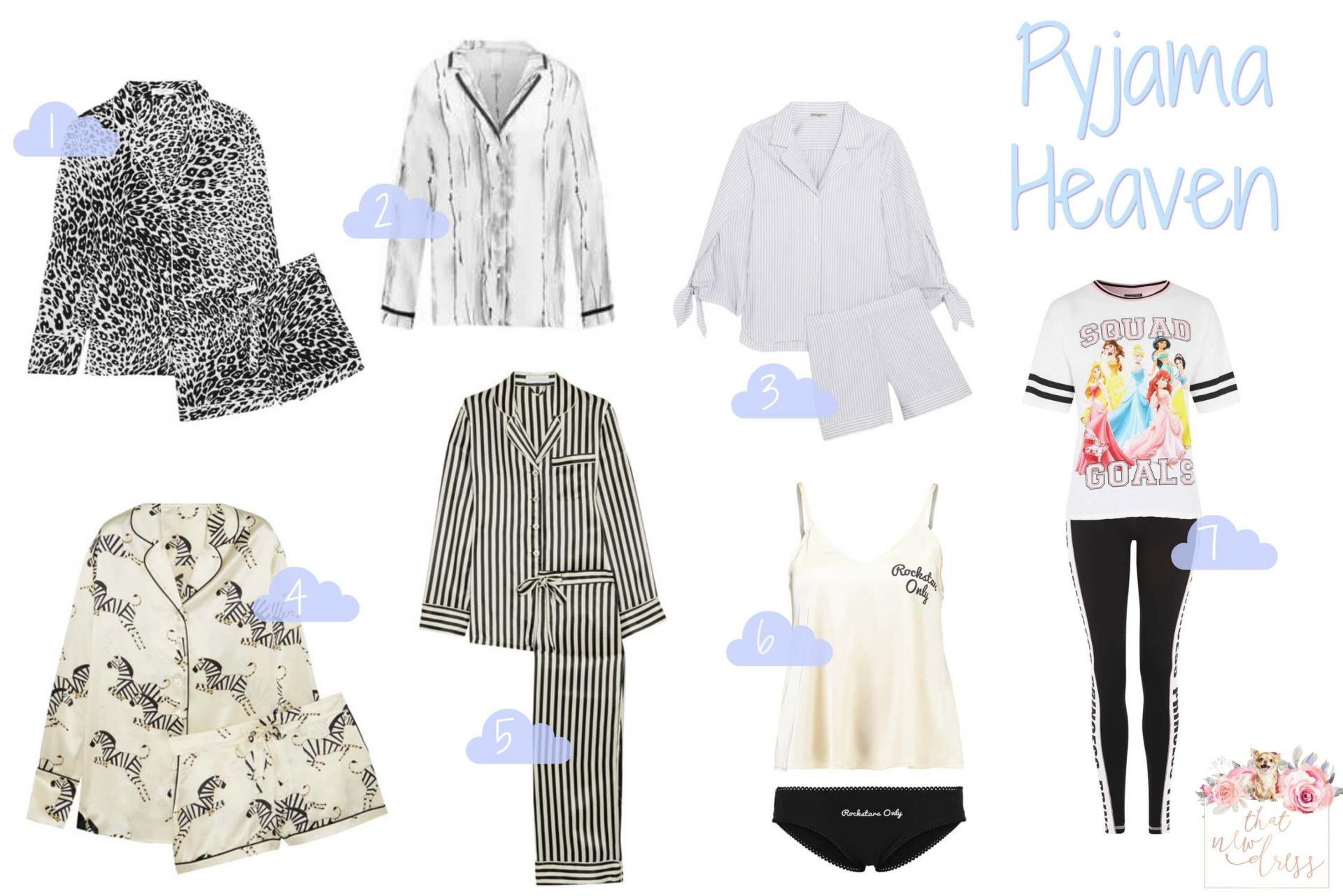 Pretty Pyjama Picks