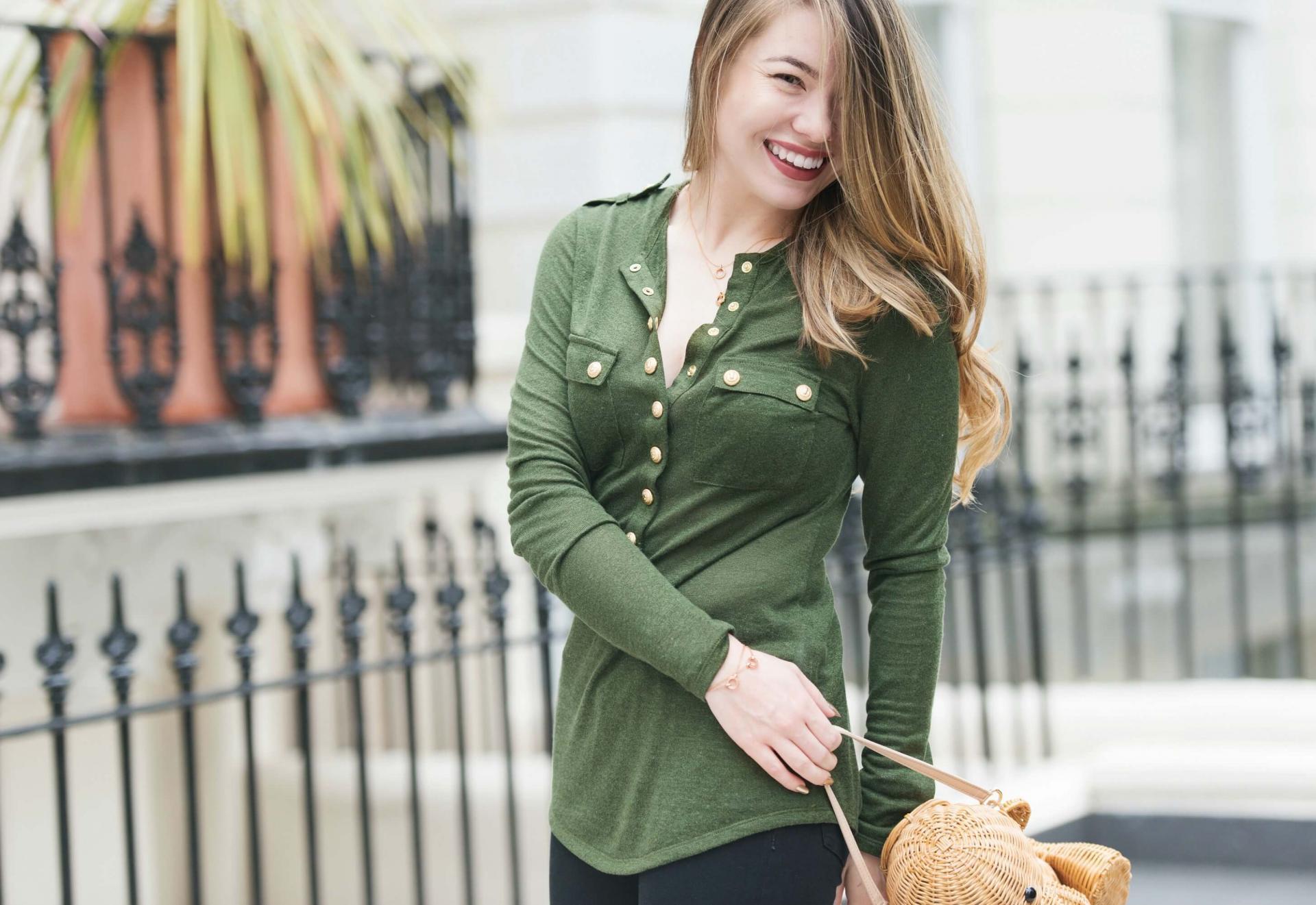 How to style Balmain clothes