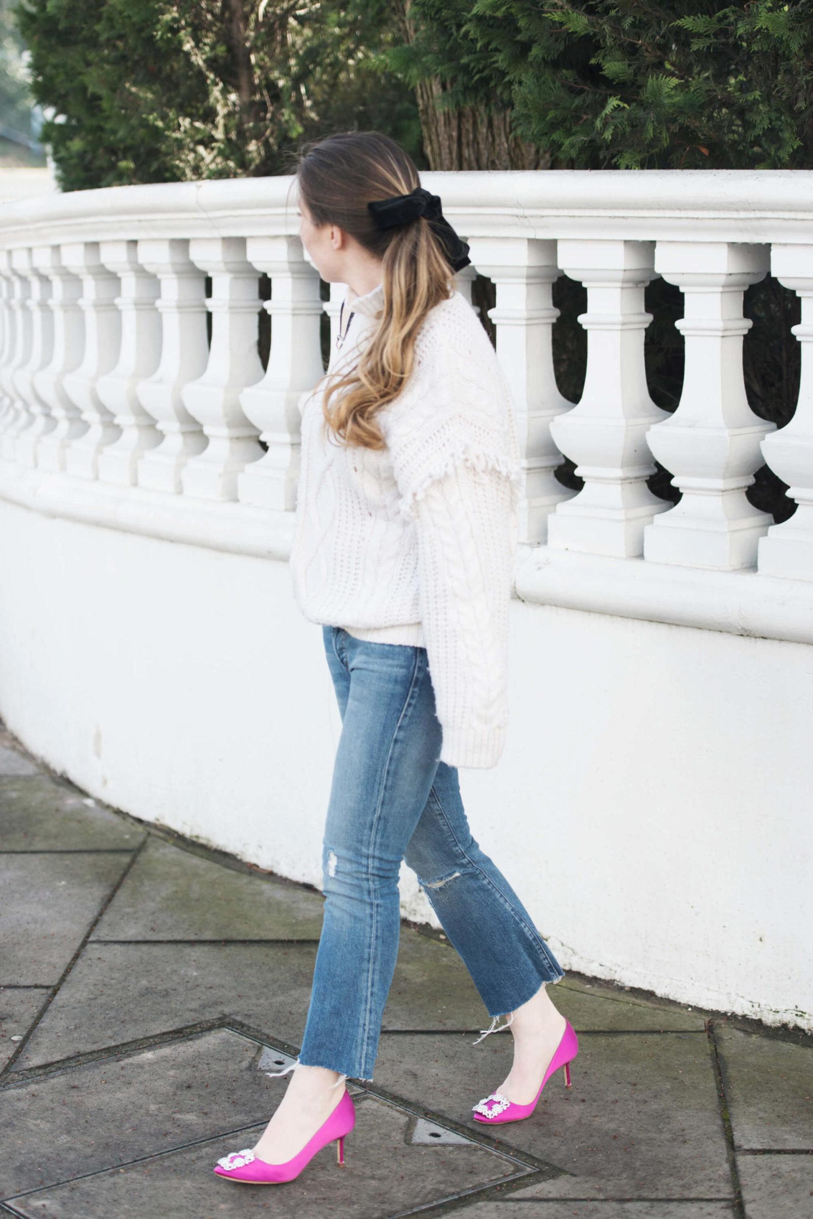 Manolo Blahnik Hangisi jeans