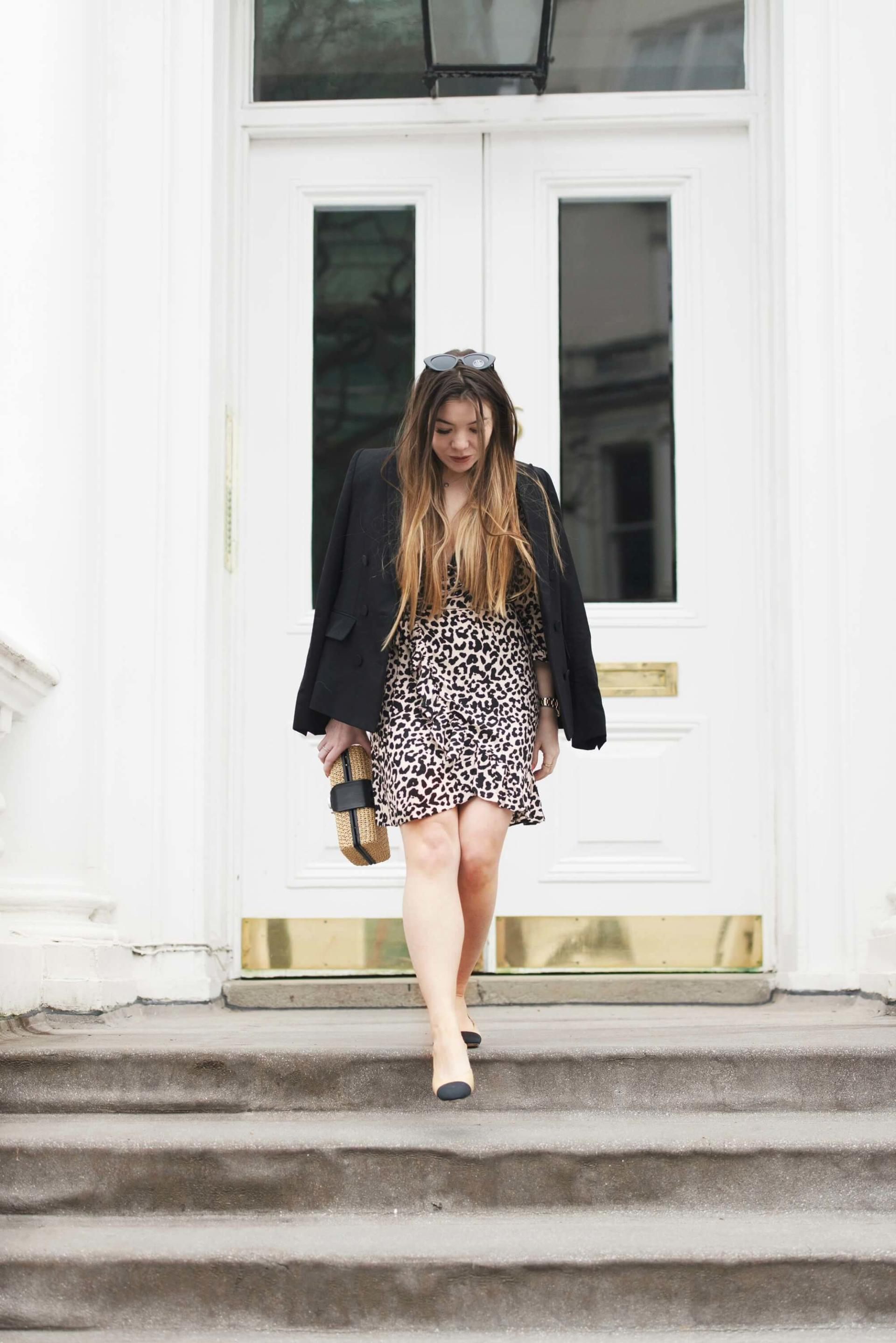 what to wear with leopard prin