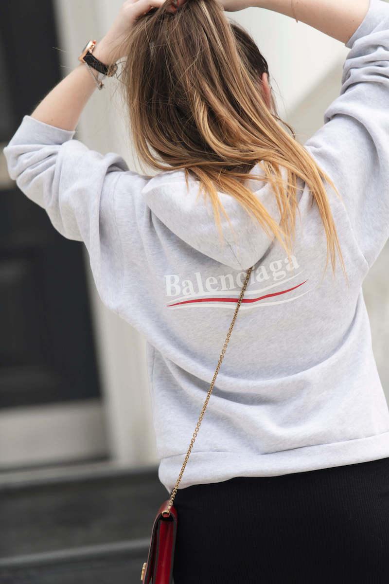 Balenciaga childrens hoodie