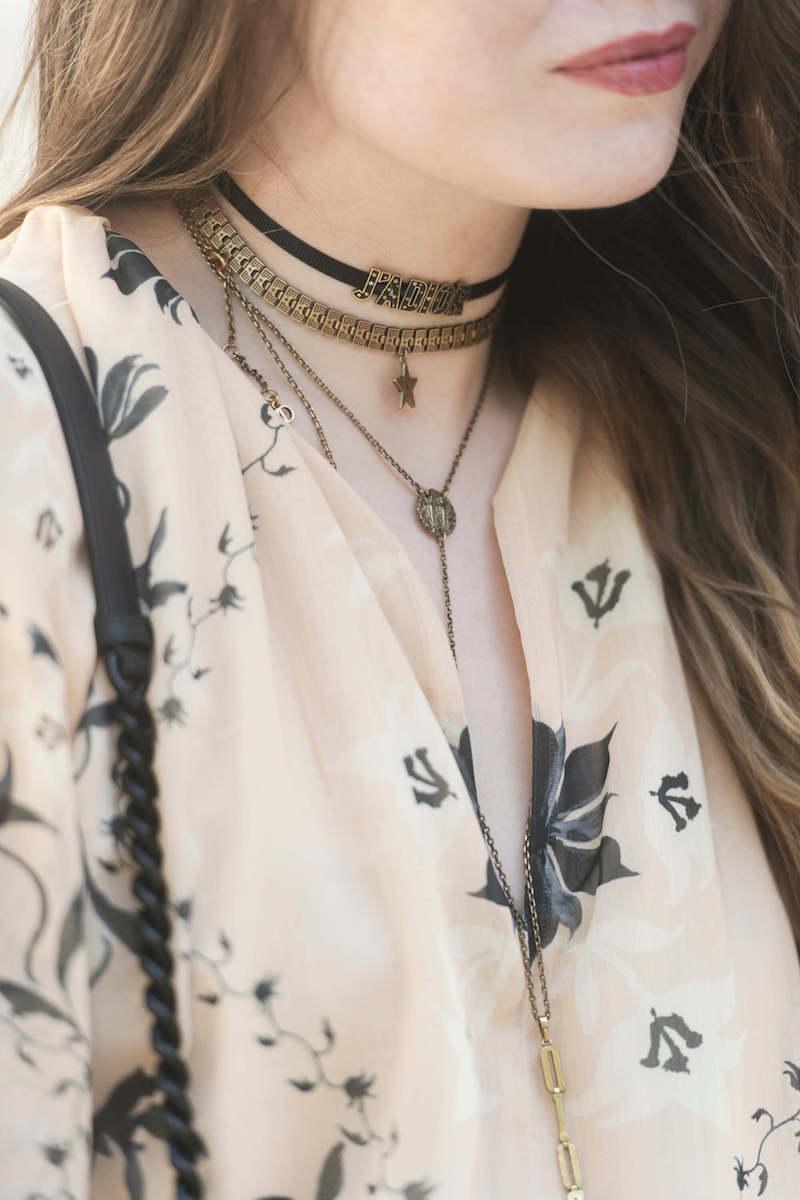 Jadior choker Dior jewellery